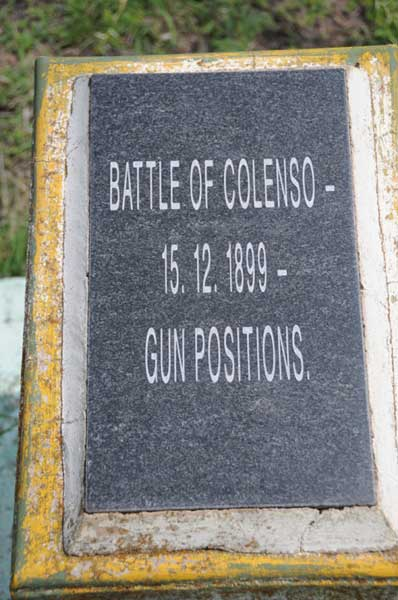 Colenso Gun Positions