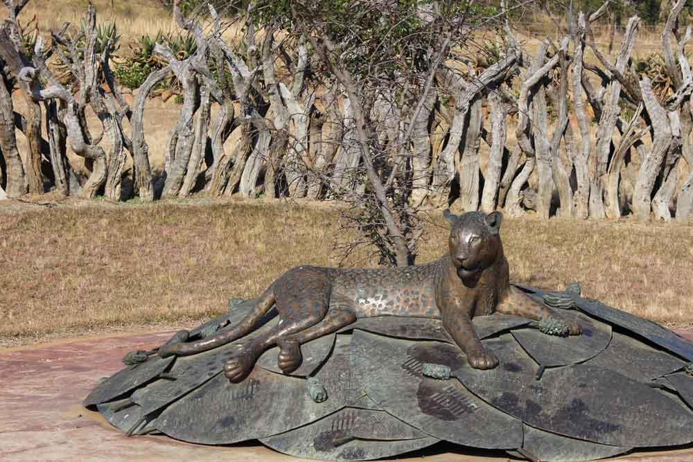 Zulu Memorial - Rorkes Drift